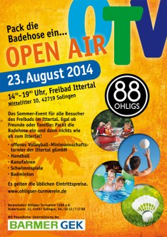 Flyer OTV Open Air 2014